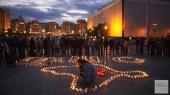 На Майдане отметили 72-ю годовщину депортации крымских татар (фото)
