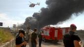 Полиция нашла виновных в пожаре на нефтебазе БРСМ около Киева